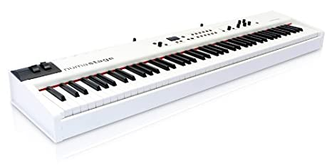Amazon.com: Studiologic NUMA-STAGE 88-Key Hammer Action Keyboard Controller with Triple Switch Detection System: Musical Instruments