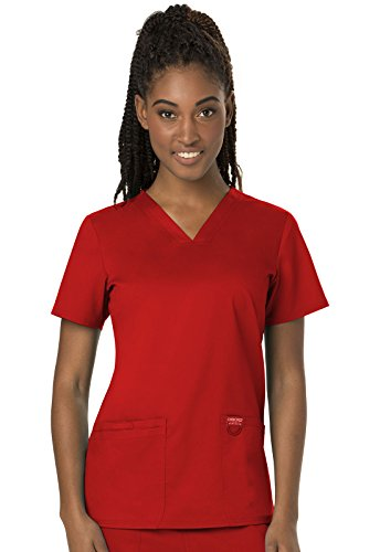 Cherokee Workwear Revolution Women's V-Neck Scrub Top