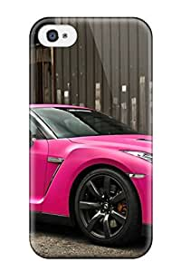 Quality Hana Heinen Case Cover With Nissan Gt-r 34351254 Nice Appearance Compatible With Iphone 4/4s