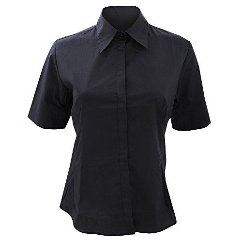 de BARGEAR Femme barmaid Noir courtes manches Chemise 558xrTwqZP