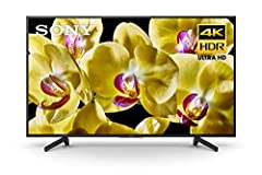 Enjoy crisp, realistic details in your favorite entertainment with the X800G 4K HDR TV. Control your TV and smart home with your voice using Android TV and Google Assistant built in. 4K X-Reality PRO technology and Dynamic Contrast Enhancer t...