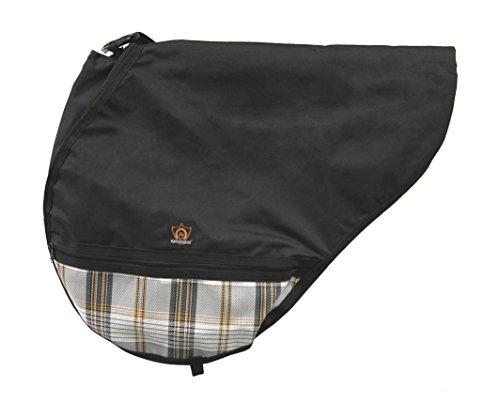 Kensington Slate (Kensington All Purpose Saddle Cover, Black/Citrus Slate, One Size)
