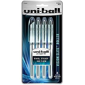 0.8mm Pen Refills for UB-200-08 08 -Red Uni VISION Elite UBR-90 Pack of 12