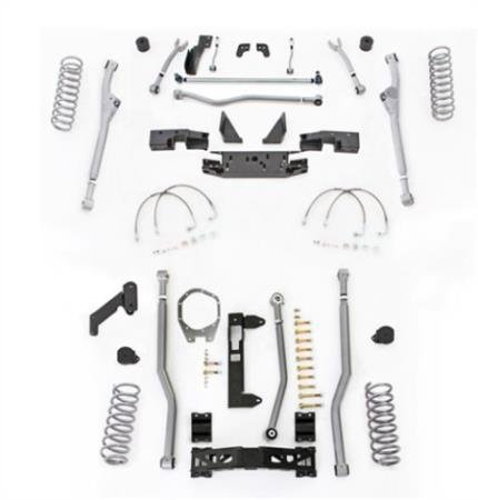 Extreme Duty Long Arm - Rubicon Express JKR344 Extreme Duty Radius Long Arm Kit