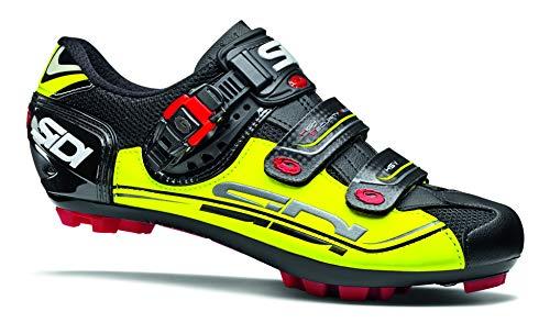 Sidi Caliper Buckle - Dominator 7 SR Mountain Bike Shoes (45.0, Flo Yellow/Black)