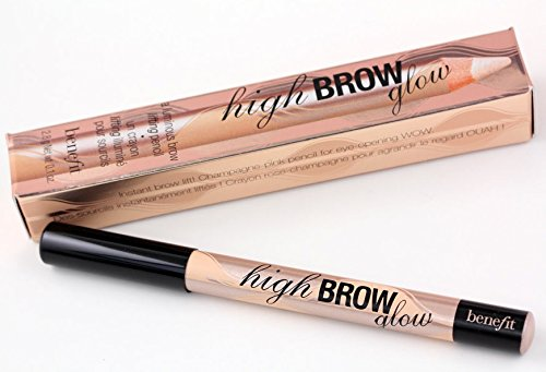 benefit high brow glow a luminous brow lifting pencil champagne-pink shade. A single stroke under your arches instantly lifts & (Champagne Glow)