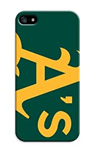 LarryToliver iphone 5/5s Customizable Baseball Oakland Athletics Case great moment Silicone case cover at New One
