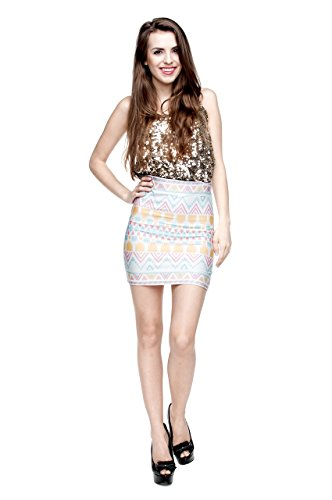 Fringoo Women's Mini Skirt...