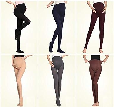 Bllatta Womens Adjustable Maternity Pantyhose Opaque Tights 120 Denier 4 Color