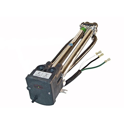 4kW Therm Products C3564-2 240V Hot Springs Double Barrel Low-Flo Heater with MANUAL RESET