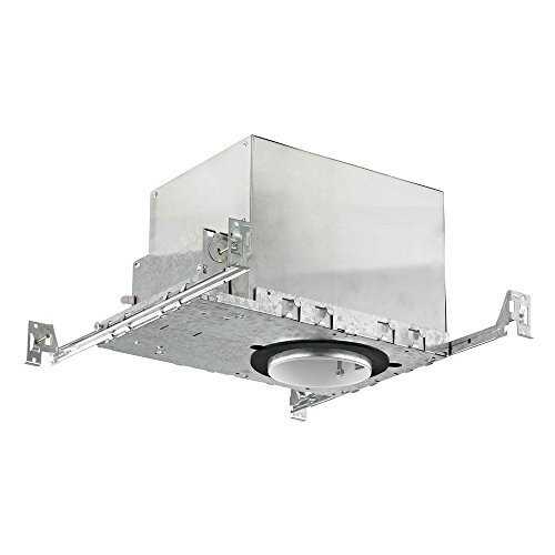 4'' New Construction GU10 Recessed Can Light IC and Airtight Rated by Dolan Designs