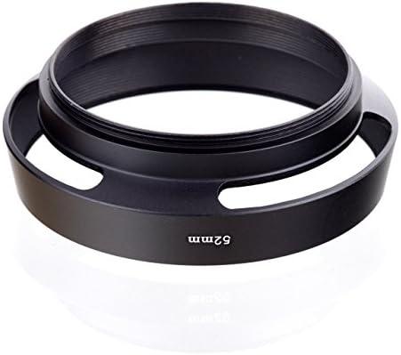 Unbekannt Leica Leitz per obiettivi Leica Leitz Canon Nikon Olympus Pentax Panasonic Colore: Nero Paraluce M 49
