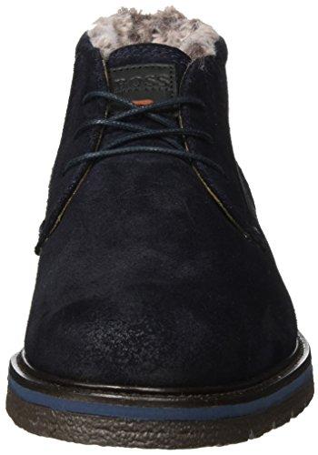 Capo Casual Herren Tuned_desb_sdfur 10201446 01 Desert Boots Blau (blu Scuro)