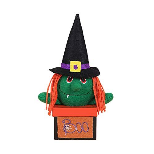 Willsa Halloween Decorations Creative Halloween Vampire Pumpkin Candy Box Gift Box -