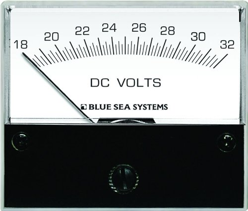 Blue Sea Systems 8240 DC Analog Voltmeter