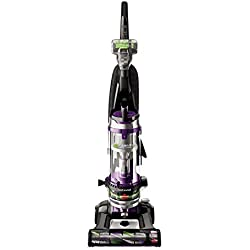 BISSELL Cleanview Swivel Rewind Pet Upright Bagless Vacuum Cleaner, Purple, 22543