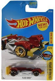 6/10 Legends of Speed Red Flash Drive Hot Wheels