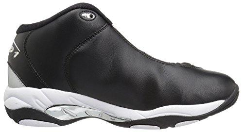Shoe Men's Black White Silver Basketball AND1 Tai Chi AznOqaOIw