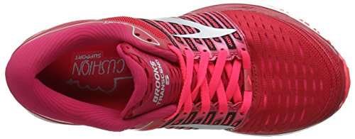 Shoes Pink Brooks Multicolour 5 Women's 699 Silver Transcend Running Pink qxIOUAfw