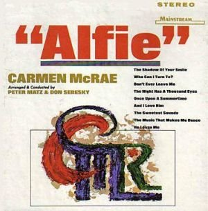 Carmen McRae: Alfie [Vinyl LP] [Stereo] by Mainstream