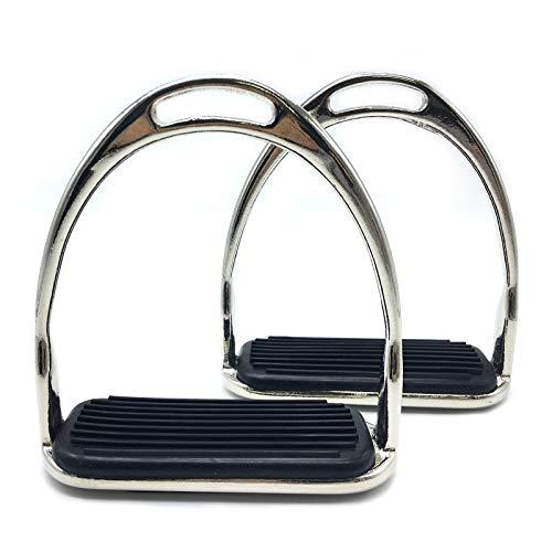 QSMYS Comfort Stirrup Iron 4-3/4 Inch