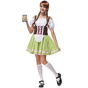 Teatro de traje de Alemania Oktoberfest traje maid cosplay ...