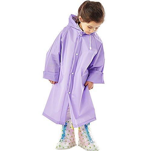 colore Rosa k Taglia zi M L Poncho raincoat C Per Xl Dimensioni Impermeabile Grande Addensare Purple Purple p L Outdoor Trekking Viola Cappello Trasparente s Xing Lungo Bambini qgt1xadt