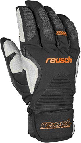 Reusch Snowsports Cerro Terre Mountaineering Gloves, X-Large, Black/Orange