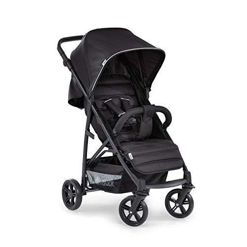 Hauck Rapid 4 Silla deportiva con respaldo reclinable para Bebés, desde nacimiento hasta 15 kg/4 años, Capacidad de carga 25 kg, Negro (Caviar/Silver) a buen precio