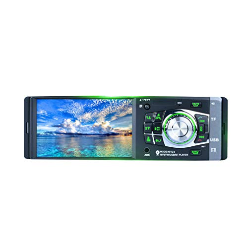 4.1 Inch HD Video Car MP5 Player,1 Din Car Stereo with: Amazon.co.uk: Electronics