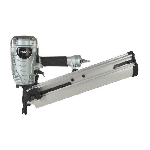 Hitachi NR90AEPR 21 Degree 3-1 2 in. Full Round Head Framing Nailer Renewed
