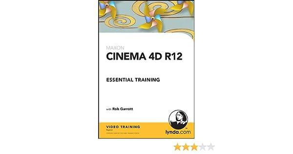 CINEMA 4D R12 Essential Training: Rob Garrott: 9781596717015: Amazon