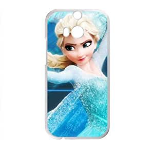 JIANADA Frozen Princess Elsa Cell Phone Case for HTC One M8