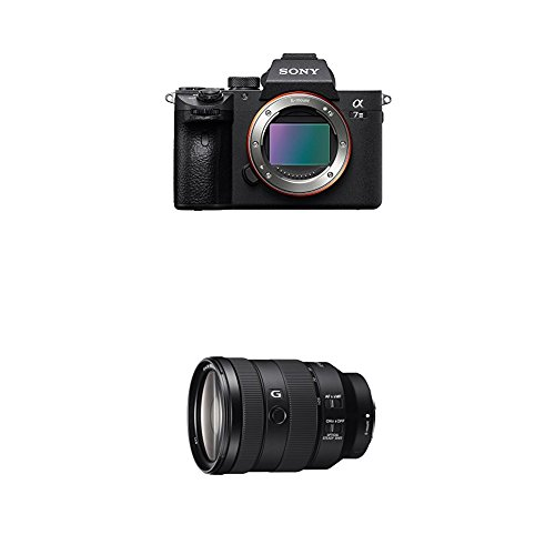 Sony a7 III Full-Frame Mirrorless Interchangeable-Lens Camera Optical with 3-Inch LCD, Black (ILCE7M3/B) and Sony Full Frame 24-105mm f/4 Standard-Zoom Camera Lens