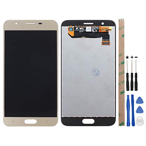 - HYYT Replacement for Samsung Galaxy J7 2018 J737 SM-J737A Refine 2018 SM-J737P SM-J737U SM-J737V SM-J737T 5.0 inch LCD Display and Touch Screen Digitizer Glass Replacement Assembly (Gold)