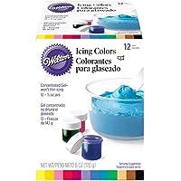 Wilton Set of 12 colors