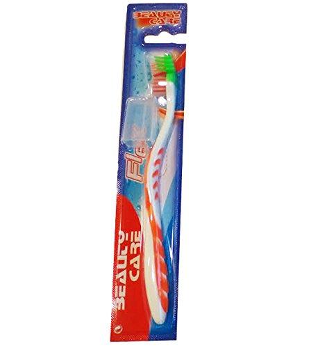 FLEX-Cepillo de dientes para adulto medio, con capuchón de encías sensibles: Amazon.es: Salud y cuidado personal