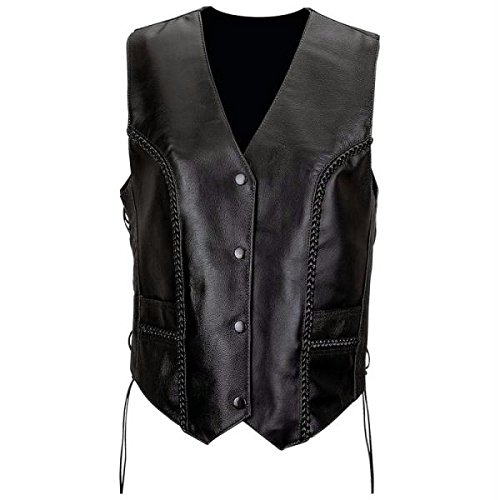 diamond-platetm-ladies-leather-braided-vest-black-large