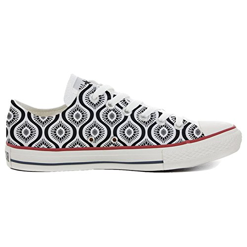 02752c91 alta calidad Converse All Star zapatos personalizados Unisex (Producto  HANDMADE) Wave Paisley