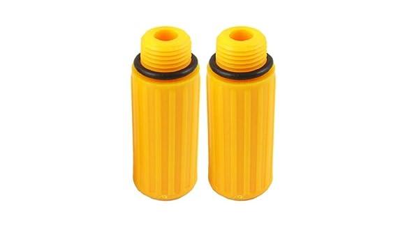 eDealMax 1 par 0, 59 rosca de plástico Conector de aceite para compresor de aire - - Amazon.com