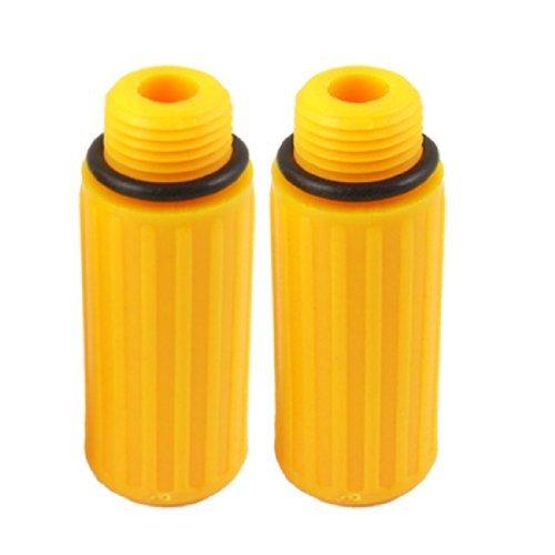eDealMax 1 par 0, 59 rosca de plástico Conector de aceite ...