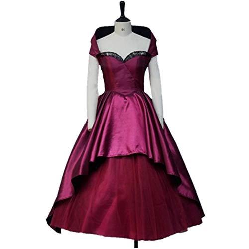 EChunchan The Greatest Showman The Bearded Woman Cosplay Costume hallloween Halloween Purple Dresses