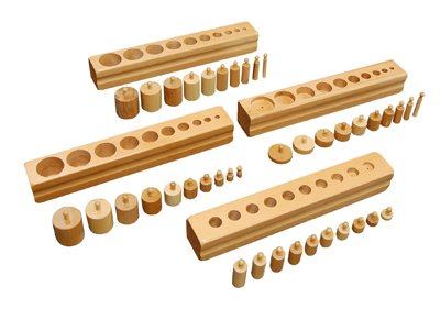 Montessori Cylinder Blocks by Kid Advance