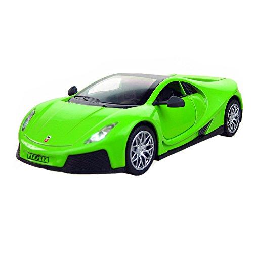 Kylin Express 1/32 Alloyed Car Model Cool Racing Model Car Child's Best Gift,Green