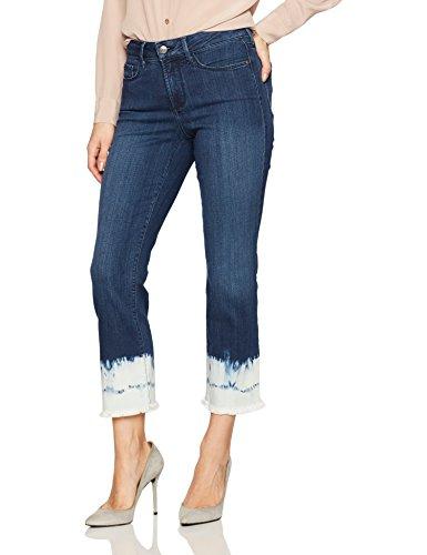 NYDJ Women's Novelty Billie Ankle Bootcut Jeans, Tie Dye ...