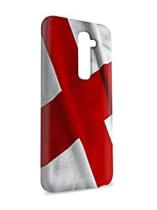 Case Fun Case Fun Flag of England Snap-on Hard Back Case Cover for LG G2
