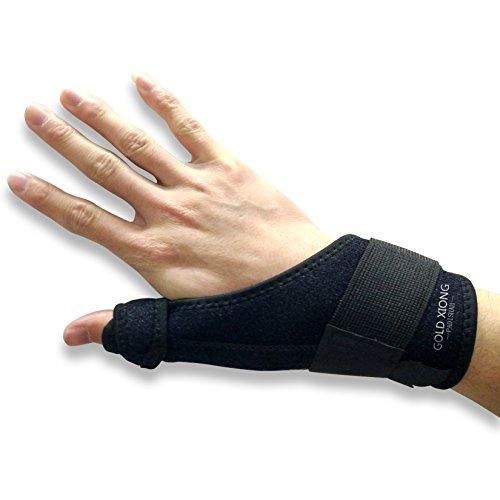 Thumb Splint,Thumb Spica Brace,Neoprene Splint with removable splint Stabilizers for BlackBerry Thumb, Trigger Finger, Mommy Thumb Brace, Arthritis Tendonitis Sprained Thumb Symptoms ()