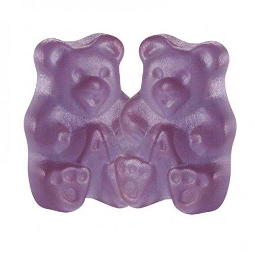 Gummi Bears - Groovy Grape , (2.5 lb Bag)