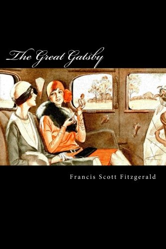Book cover from The Great Gatsby by Francis Scott Fitzgerald