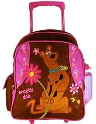 Warner Bros Scooby Doo Luggage : School Kid Size Rolling Backpack